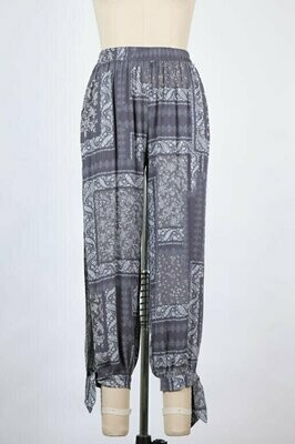 Bandana Print Pants