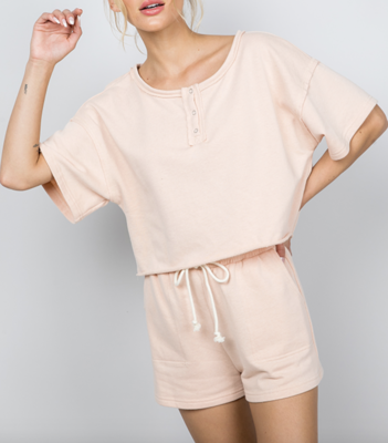 Summer Sleepover French Terry Top