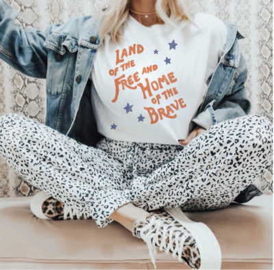 Land of the Free and Home of The Brave Tee