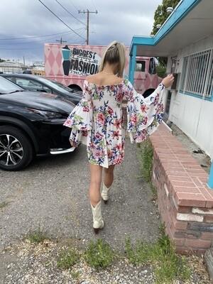 Man! I Feel Like a Woman Floral Dress