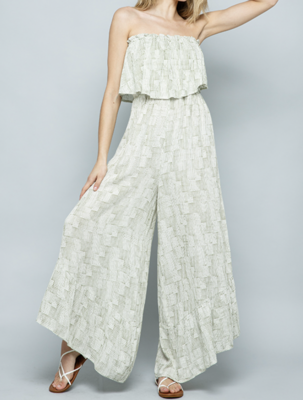 The Best Jumpsuit Ever in Olive Print
