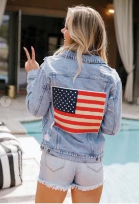 Let Freedom Ring Denim Jacket