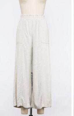 Saint Tropez Linen Wide Leg Pants