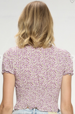 Meadows in The Spring Top in Ivory