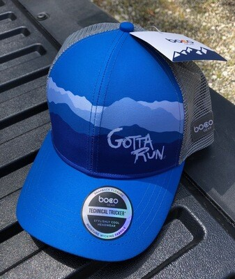 Gotta Run Lifestyle Blue Mountain technical trucker