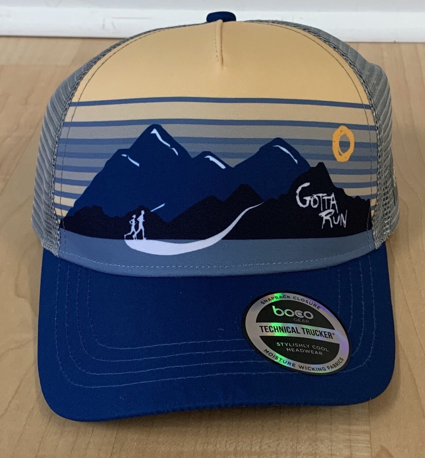 Gotta Run Lifestyle Blue Mountain Runners technical trucker