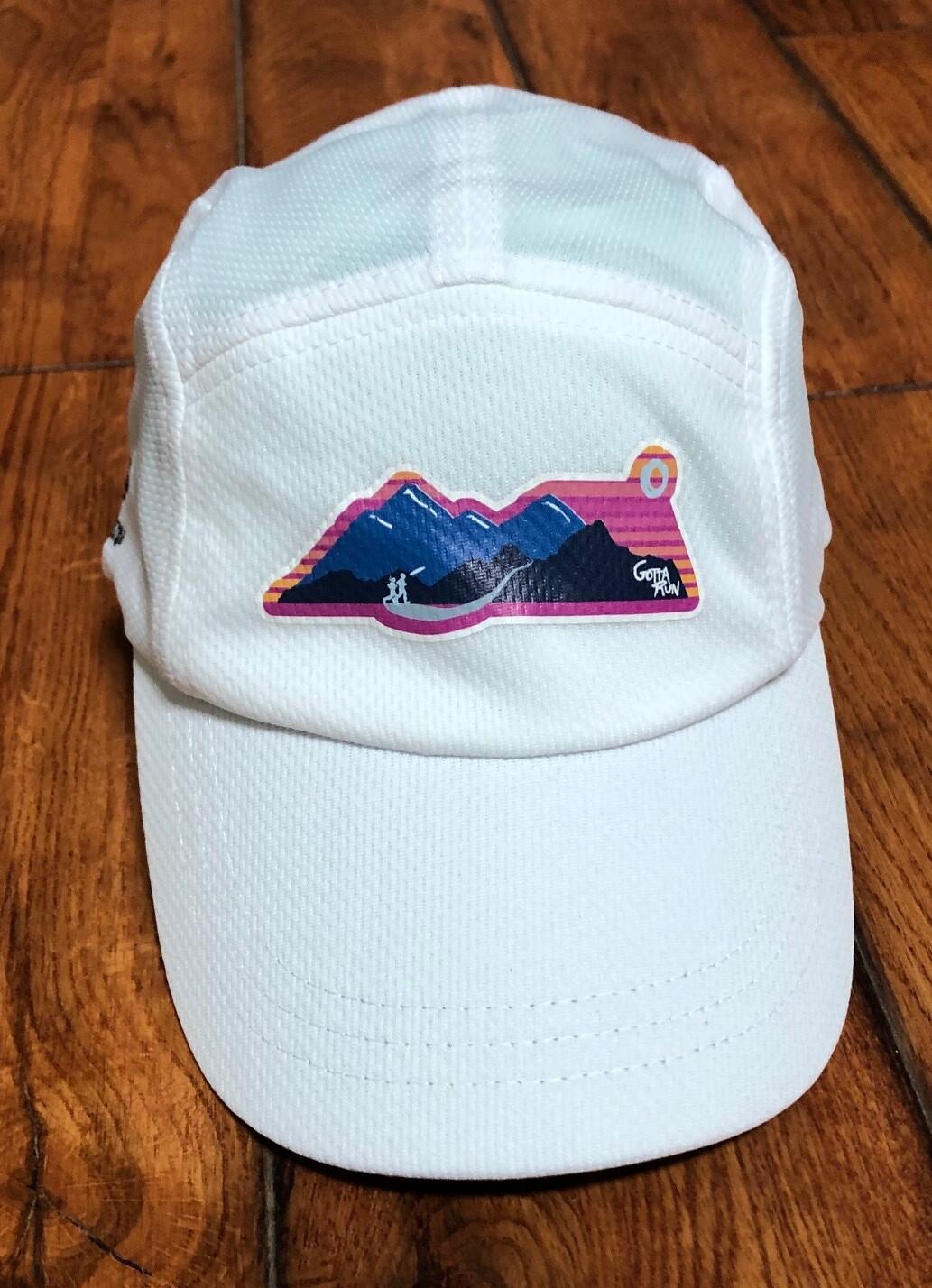 Gotta Run Lifestyle Headsweats Race Hat - White