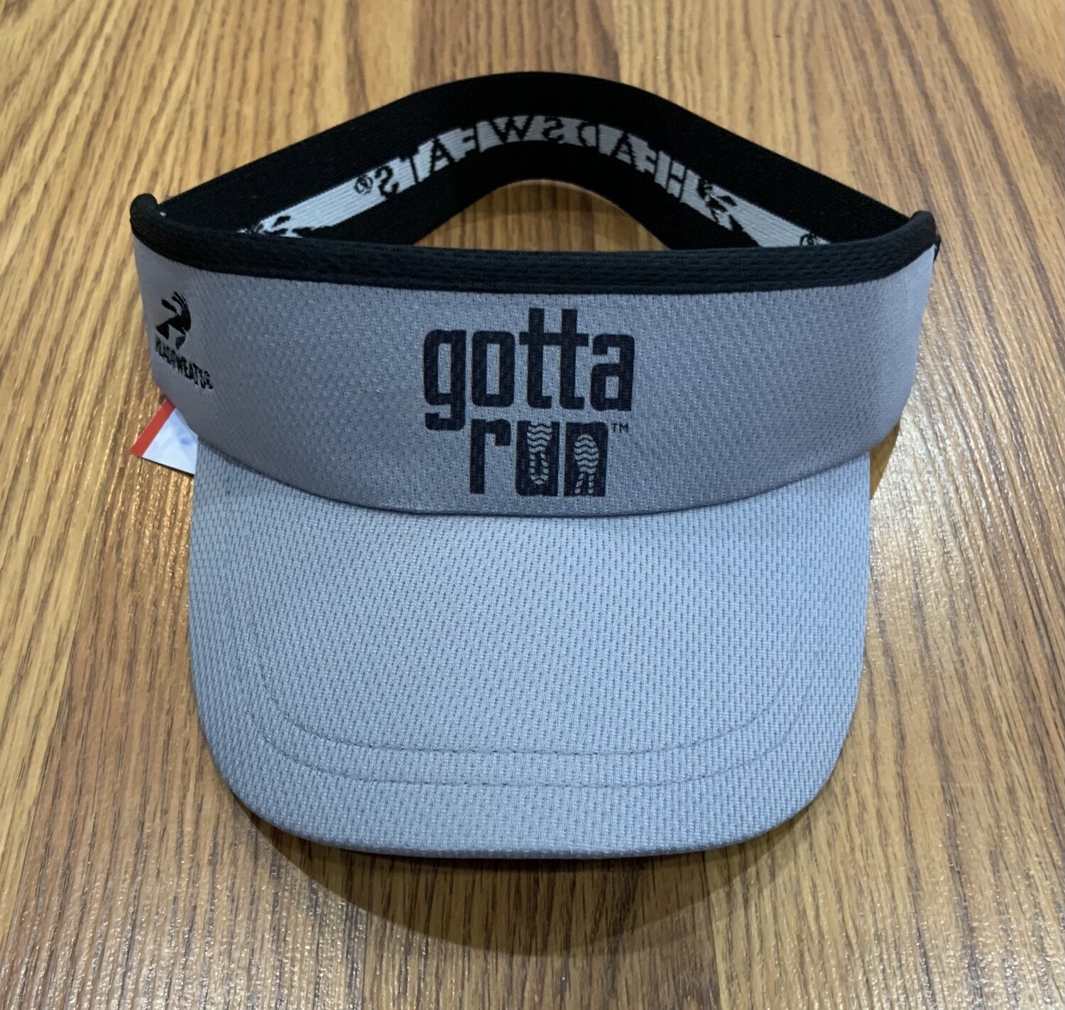Gotta Run Lifestyle Headsweats Supervisor - Gray with Black written logo