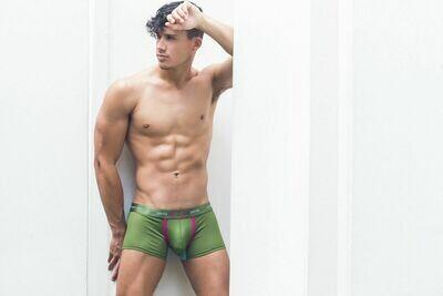 2EROS Aeolus Underwear - Trunk Green Gale