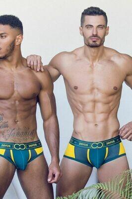 2EROS Kratos Underwear - Trunks Golden Forest