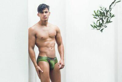 2EROS Aeolus Underwear - Brief Green Gale
