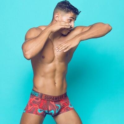 Supawear Sprint Trunk Underwear - (Guerilla Red)