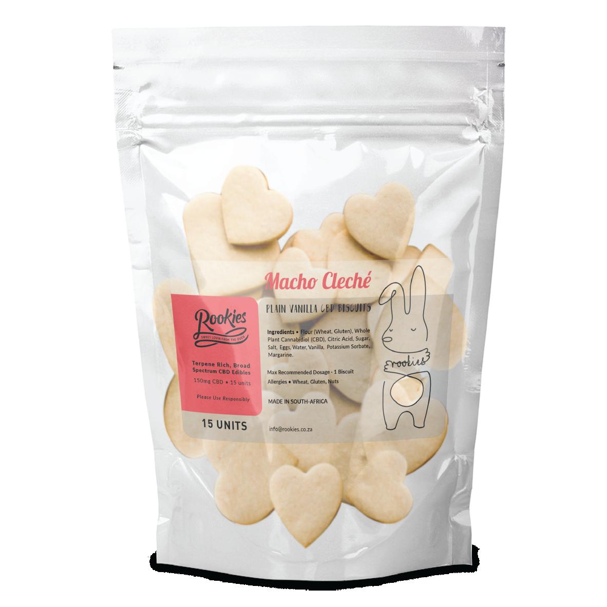 CBD Biscuits - Vanilla