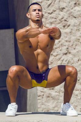 2EROS AKTIV NRG Trunk Underwear - Vivid Purple