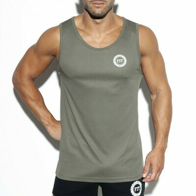 E.S. COLLECTION - TS257 Training Fit Tank Top