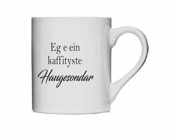 Kaffityste Haugesondar