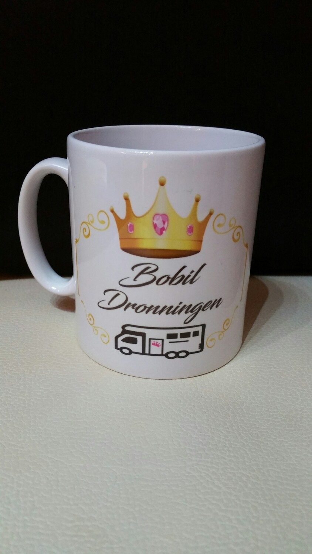 Bobil Dronningen kopp