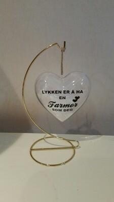 Lykken er å ha en Farmor som deg blankt hjerte