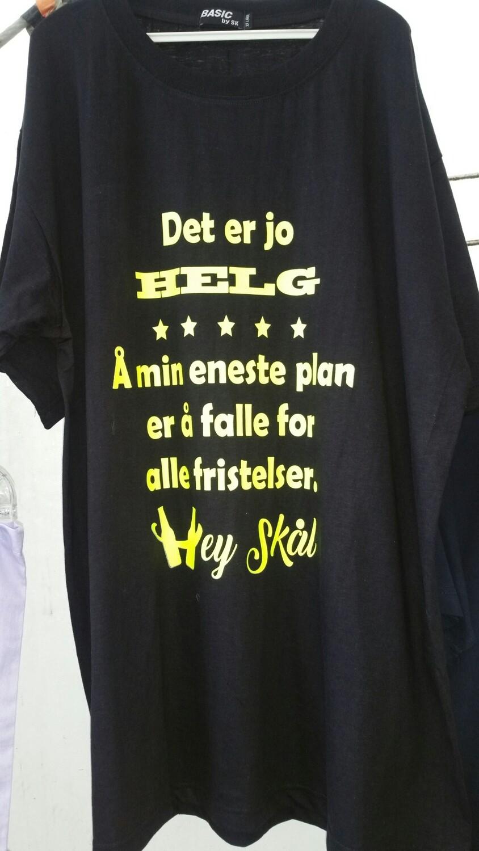 Det er jo Helg t-shirt