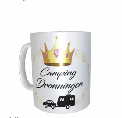 Camping dronning / Konge kopp