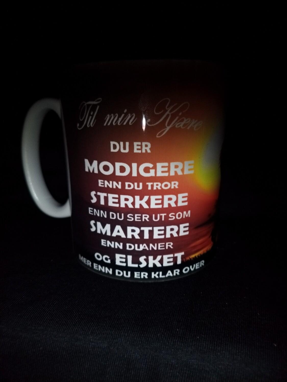Til min kjære kopp