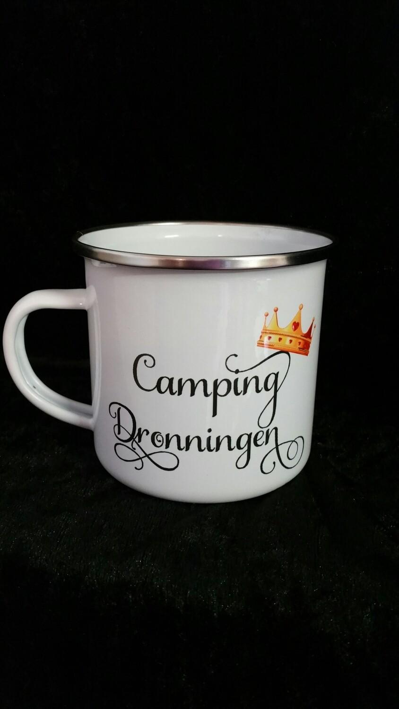 Camping Dronningen emaljekopp