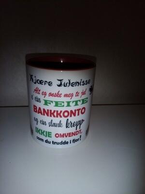 Julekopp på dialekt