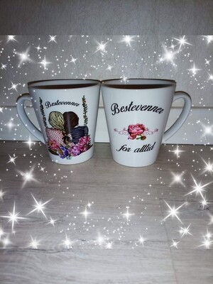Latte kopp bestevenner