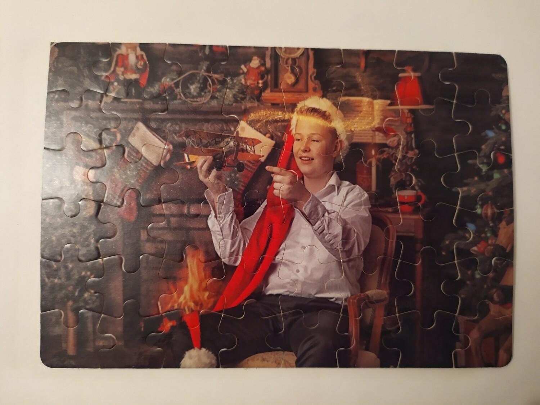 Puzzlespill med ditt eget bilde