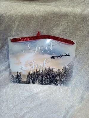 Skilt God Jul