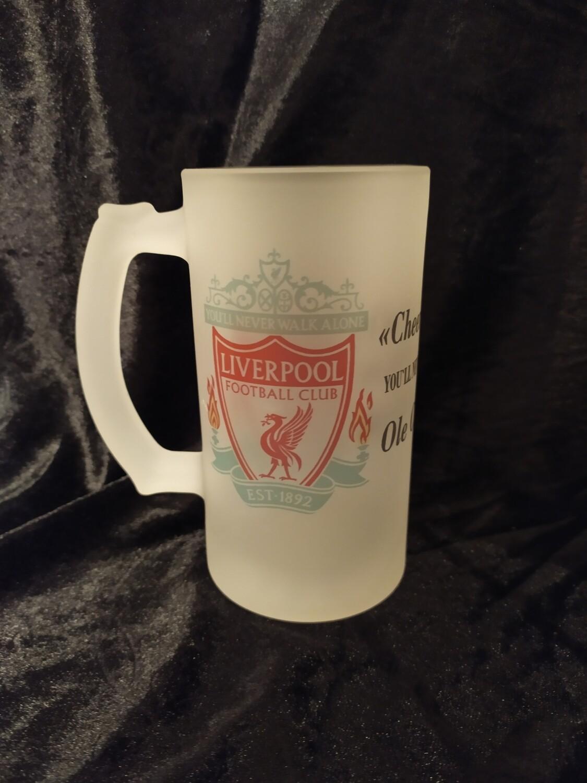 Liverpool øl krus