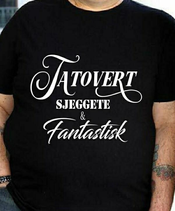 Tatovert, sjeggete og fantastisk t skjorte