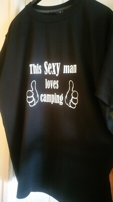 This Sexy man loves camping