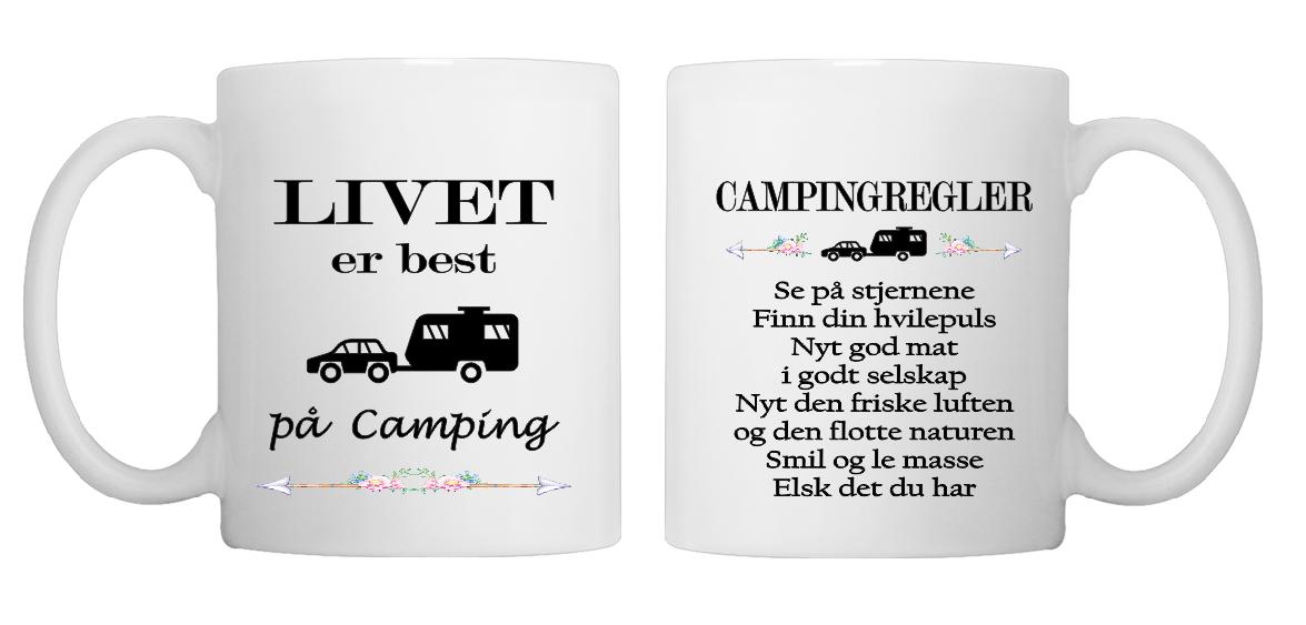 Livet er best på camping