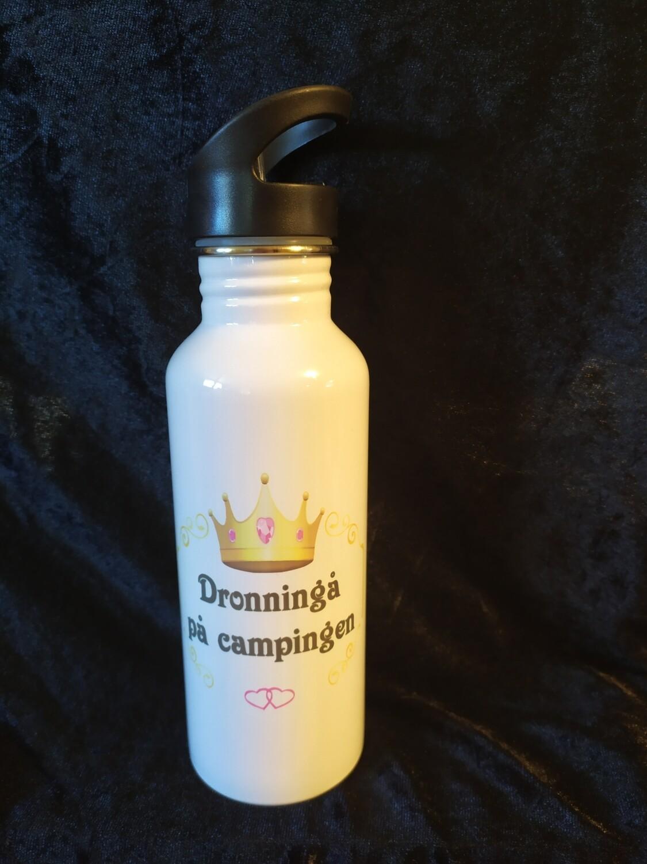 Drikkeflaske Dronningå på Campingen. O,7 Liter