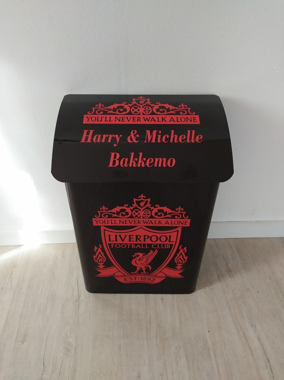 Nr 07. Postkasse Liverpool med rød tekst