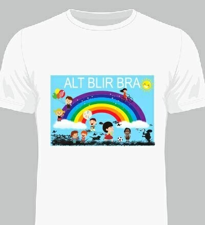 Alt blir bra t-shirt