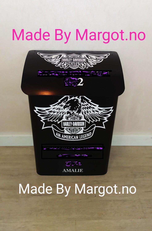 Nr 05. Harley Davidson motiv