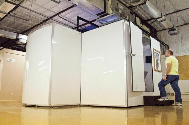 Flight Simulator Enclosure Room