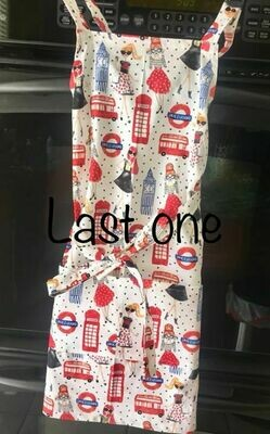London Girl Apron