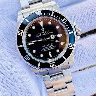 NEVER POLISHED ROLEX Sea-Dweller 16600 Circa 1988