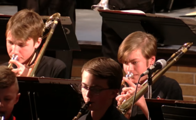 Oak-Land Middle School 8th Grade Band and Orchestra: December 17, 2019