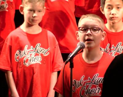 Oak-Land Middle School 6th Grade Choir Concert: January 13, 2020