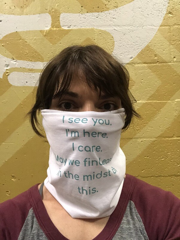 Compassion Practice Mask