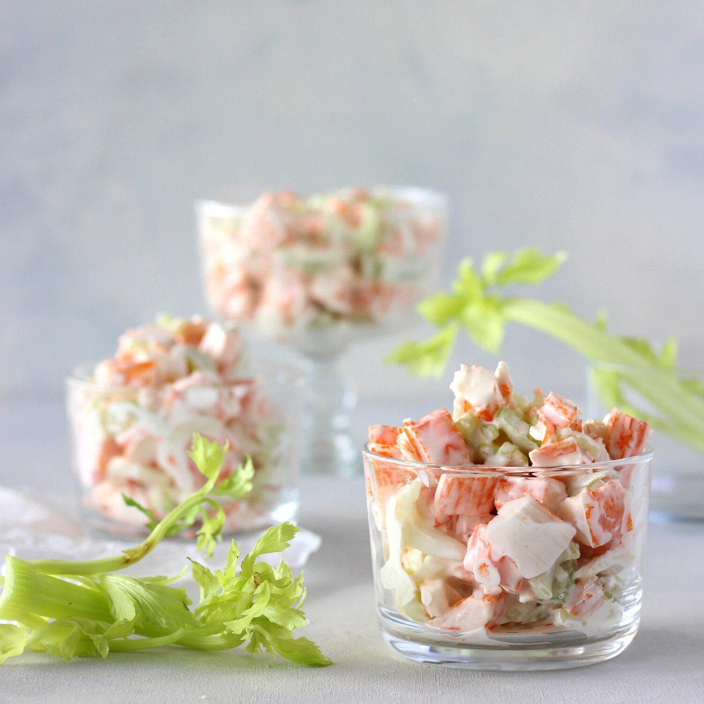 Imitation Crab Meat Salad