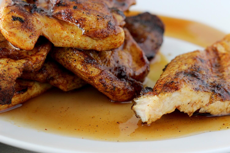 Honey Glazed Chicken Breast