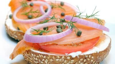 Bagels and Lox Package
