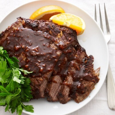 Maple Glazed Brisket