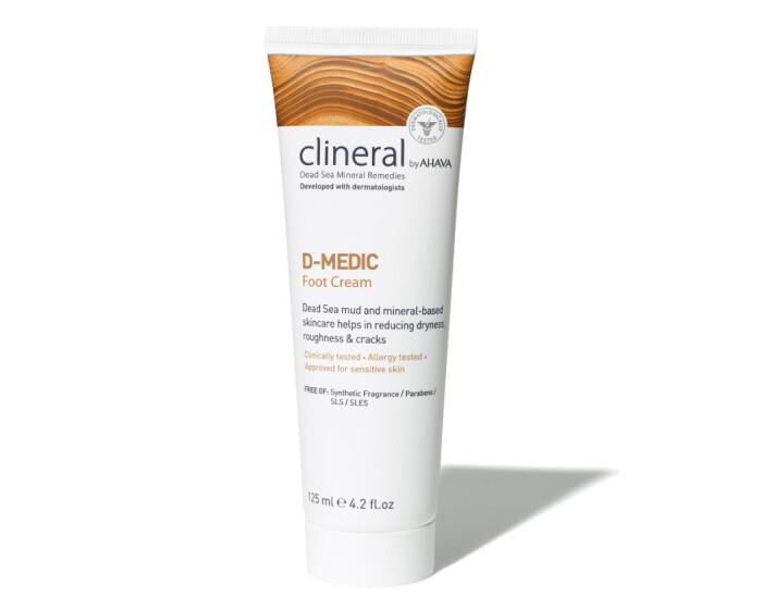 Clineral by Ahava - D-MEDIC Foot Cream 125ml