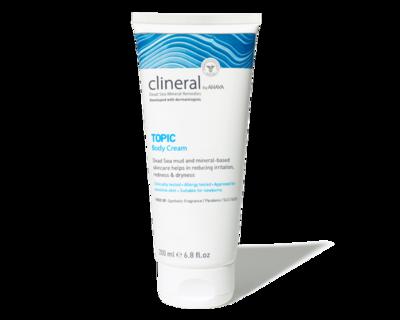 Clineral by Ahava - TOPIC Body Cream - 200ml